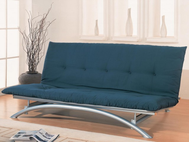 Contemporary Metal Futon Frame
