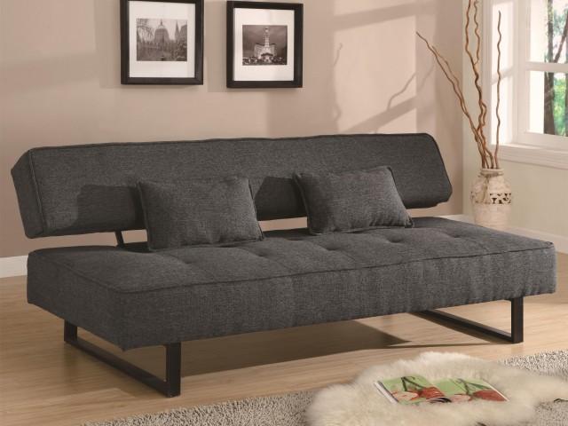 Contemporary Armless Sofa Bed