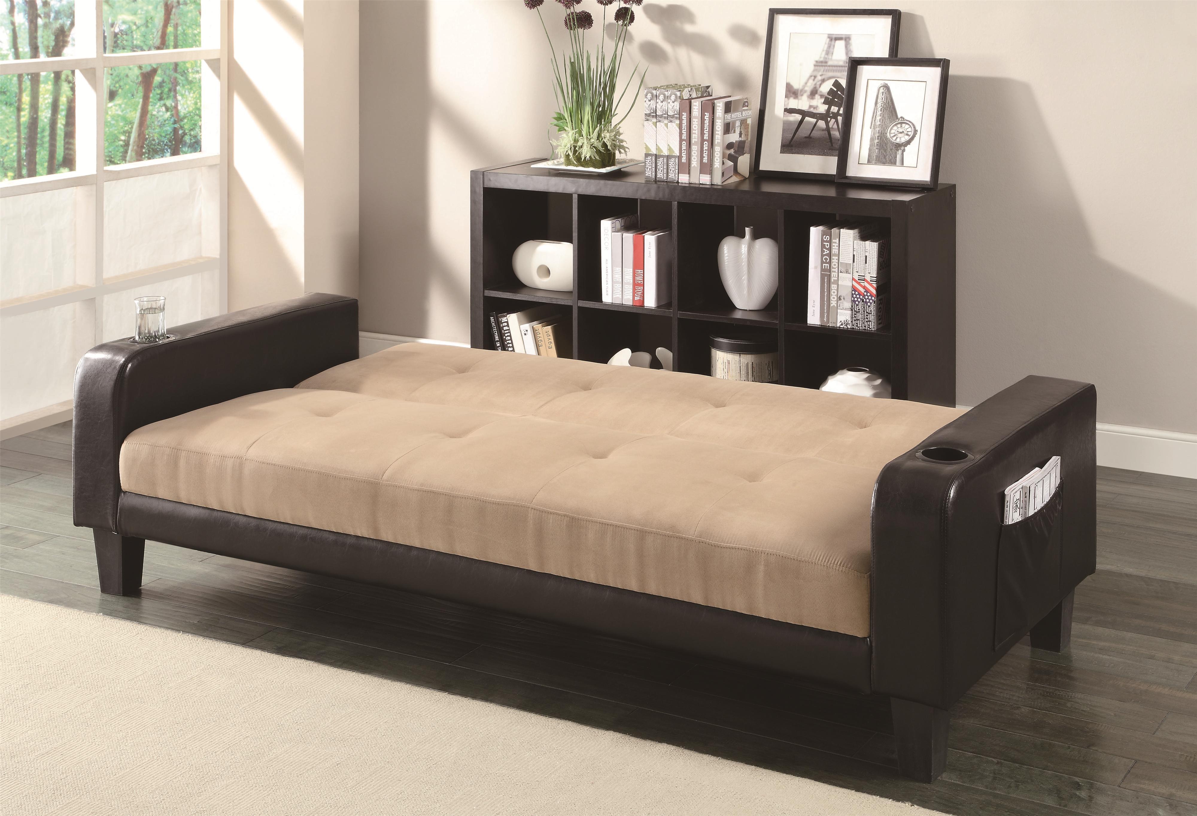 today dhp grey overstock futon garden shipping light queen premium city free linen home product